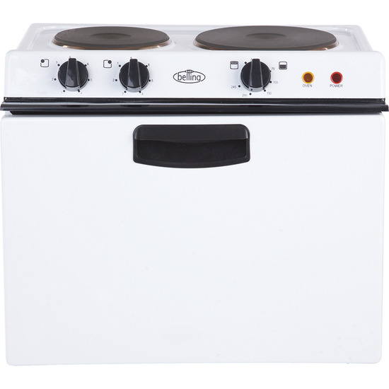 Belling Ba121R Electric Tabletop Cooker - White
