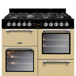 Cookmaster CK100F232C Dual Fuel Range Cooker Cream Reviews