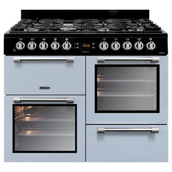 Cookmaster CK100F232B Dual Fuel Range Cooker Blue