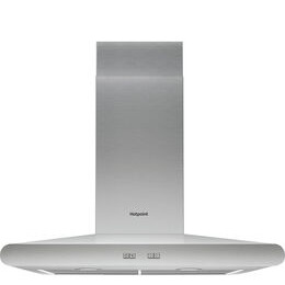 Hotpoint PHC6.7FLBIX Chimney Cooker Hood - Stainless Steel Reviews