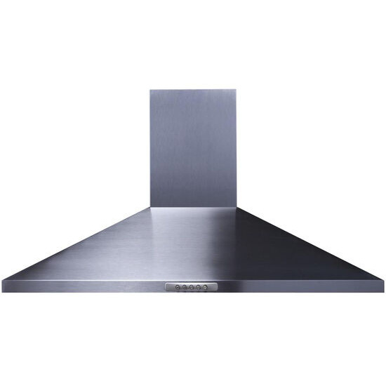 UH 100 Chimney Cooker Hood - Stainless Steel