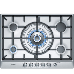 Bosch Exxcel PCR715M90E Gas Hob - Brushed Steel Reviews