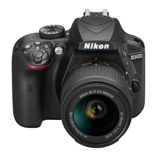 Nikon D3400 + 18-55 mm