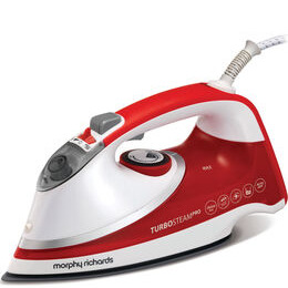 Turbosteam Pro 303116 Steam Iron - Red & White Reviews