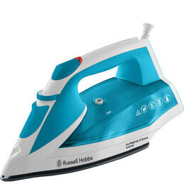 Russell Hobbs Supreme 23040 Steam Iron - White & Blue Reviews