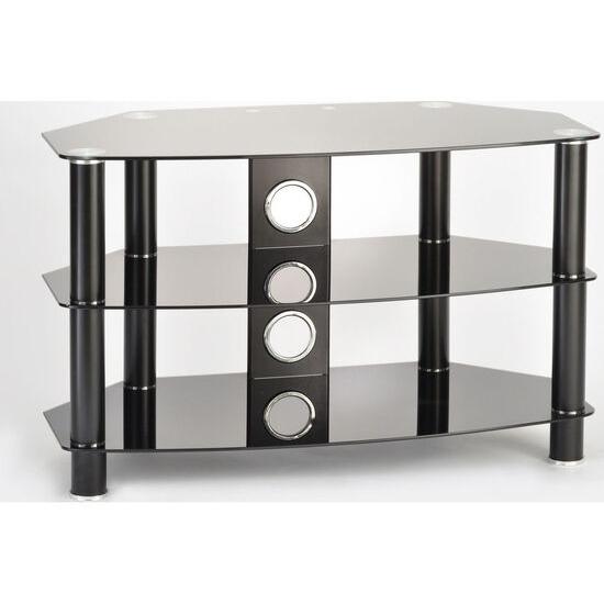 Vantage 1200 TV Stand - Black