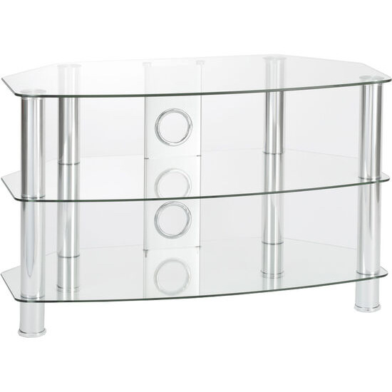 Vantage 1050 TV Stand - Chrome