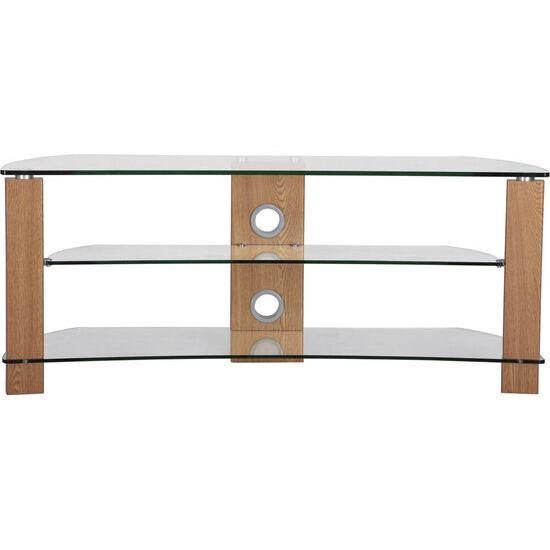 Vision Curve 1400 TV Stand - Oak