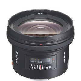 Sony 20 mm f/2.8 Wide-angle Prime Lens
