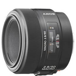 Sony SAL50M28 50 mm f/2.8 Standard Macro Lens