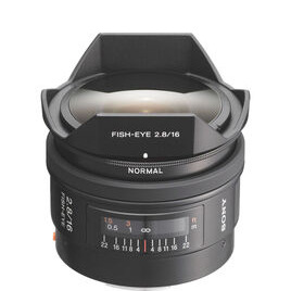 Sony 16 mm f/2.8 Fisheye Lens