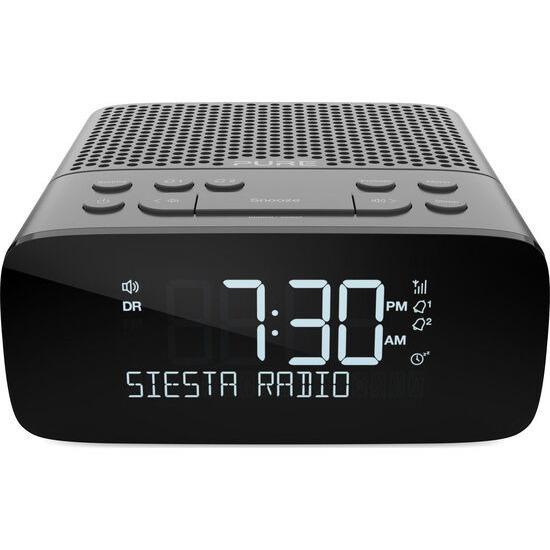 PURE Siesta S2 DAB+/FM Clock Radio - Graphite