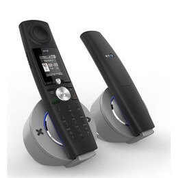 Halo Bluetooth Cordless Phone with Answering Machine - Twin Handsets Reviews