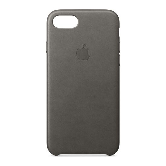 Leather iPhone 7 Case - Storm Grey