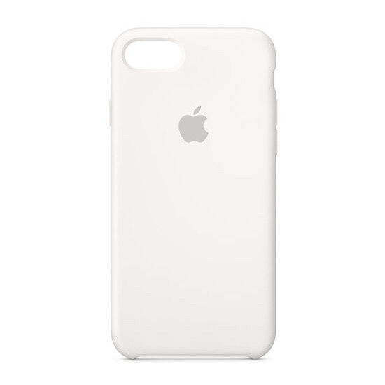Silicone iPhone 7 Case - White