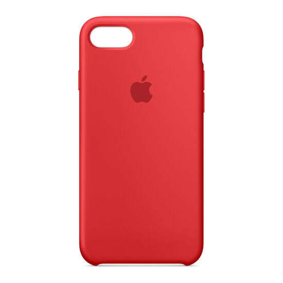 Silicone iPhone 7 Case - Red