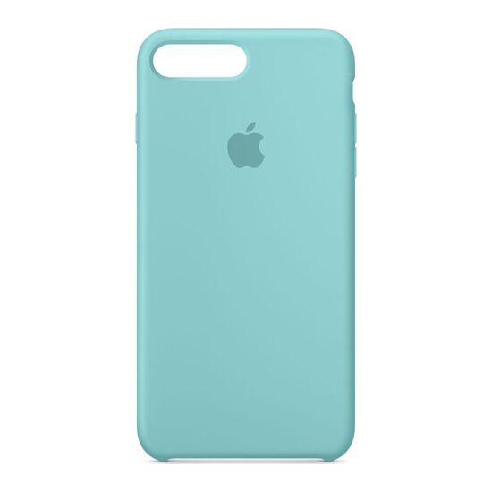 Silicone iPhone 7 Plus Case - Sea Blue