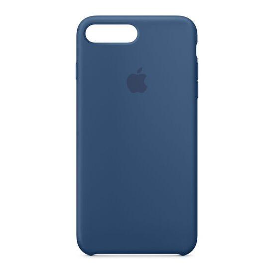 Silicone iPhone 7 Plus Case - Ocean Blue