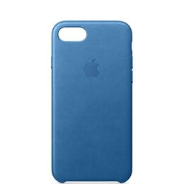 Leather iPhone 7 Case - Sea Blue