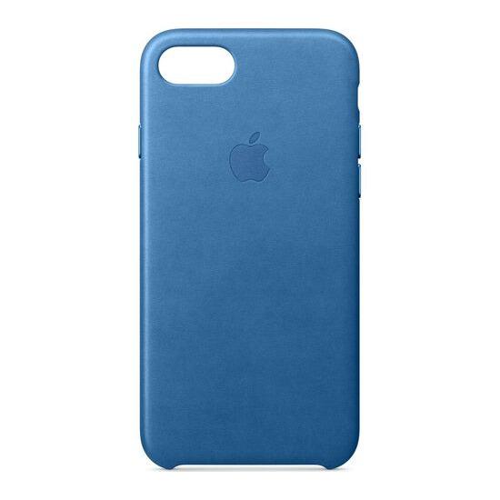 Leather iPhone 7 Case - Sea Blue