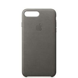 Leather iPhone 7 Plus Case - Storm Grey