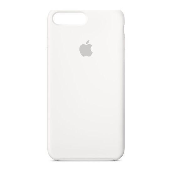 Silicone iPhone 7 Plus Case - White