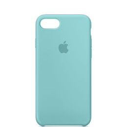 Silicone iPhone 7 Case - Sea Blue
