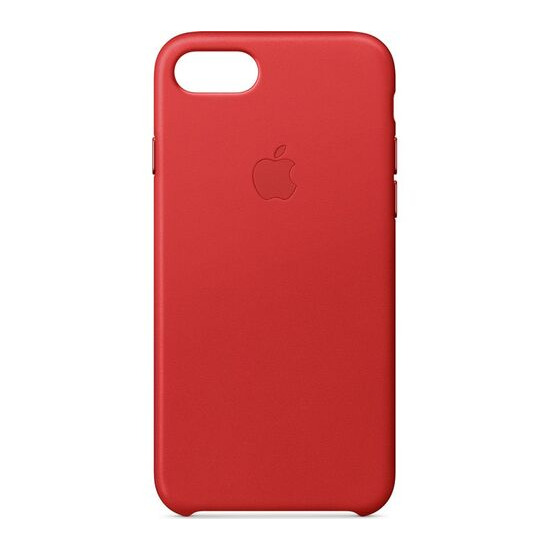Leather iPhone 7 Case - Red