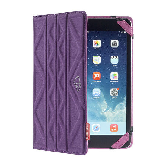 Flip & Reverse Universal 10 Tablet Case - Purple & Pink