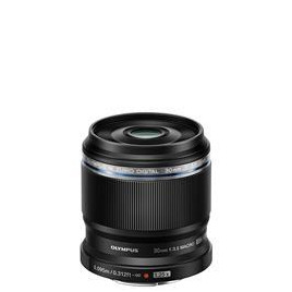 Olympus ED 30mm 1:3.5 / EM-M3035 Macro Lens - Black Reviews