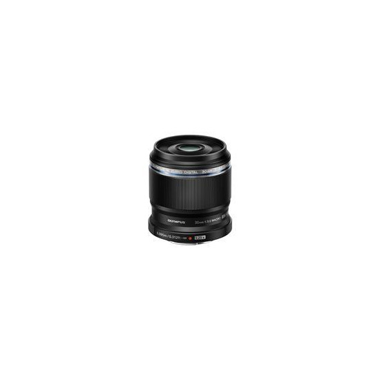 Olympus ED 30mm 1:3.5 / EM-M3035 Macro Lens - Black