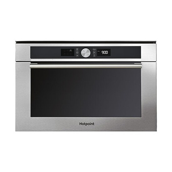 Hotpoint MD454IXH Built In Microwave with Gril Stainless Steel