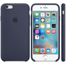 Apple Leather iPhone 7 Case - Midnight Blue