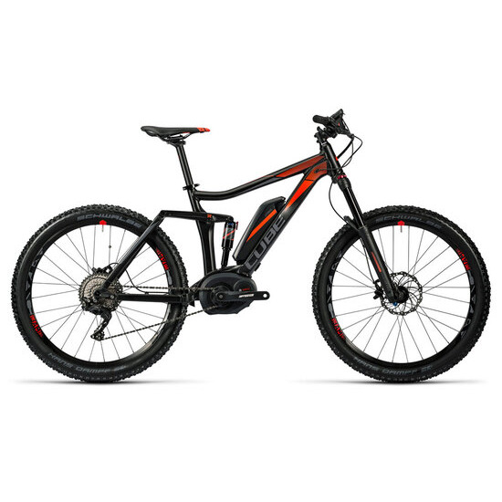 Cube Stereo Hybrid 140 HPA Pro 500 27.5 (2016) electric bike