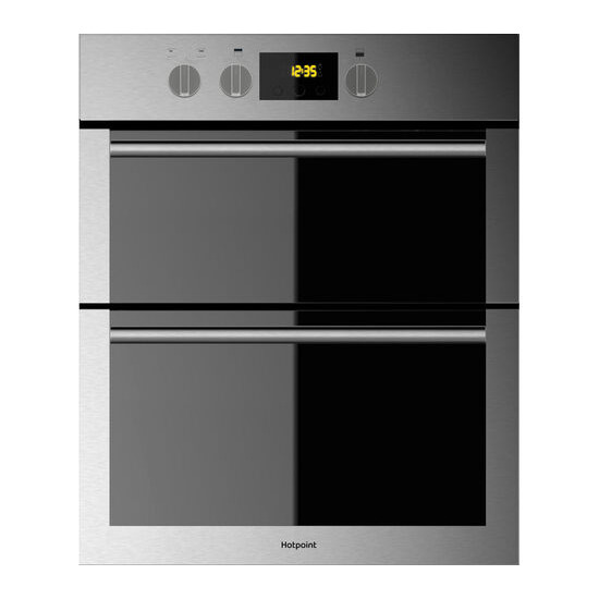 Hotpoint DU4 541 IX Electric Double Oven Stainless Steel
