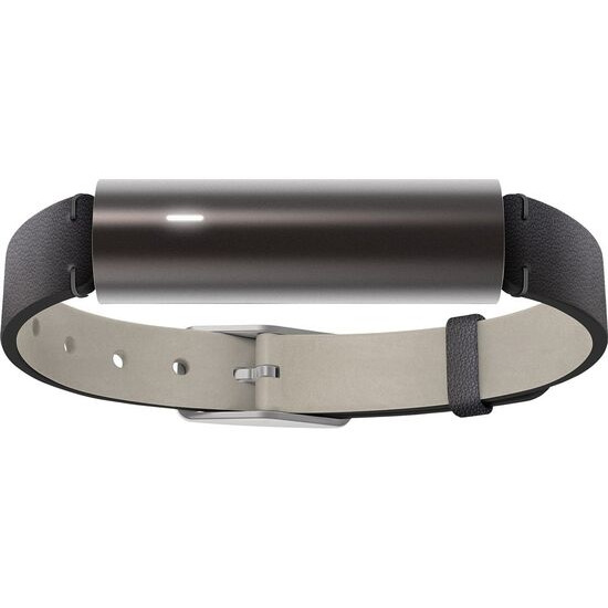 MISFIT Ray Activity Tracker - Carbon Black, Leather Strap