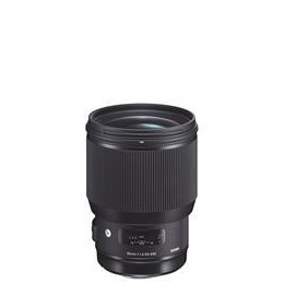 Sigma 85mm f1.4 DG HSM Art Lens - Canon Reviews