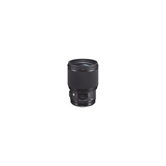Sigma 85mm f1.4 DG HSM Art Lens - Nikon