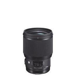 Sigma 85mm f/1.4 DG I HSM Lens for Sigma