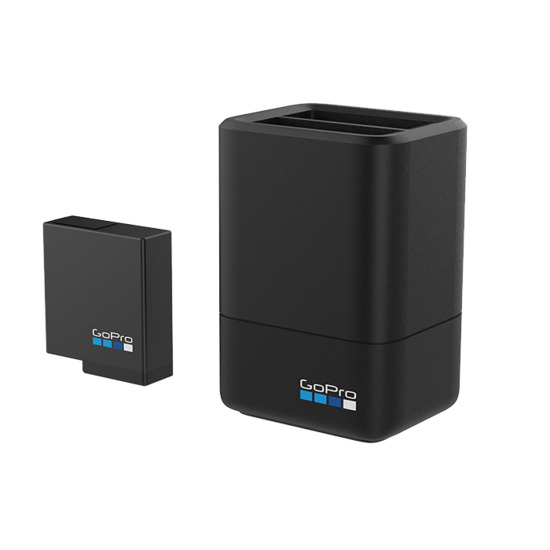 GoPro Dual Battery Charger Plus Battery for Hero5 Black