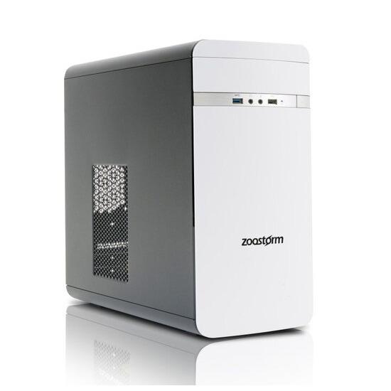 Zoostorm Evolve Desktop PC Intel(R) Pentium(R) G4400 3.3GHz 8GB RAM 1TB HHD DVD/RW Intel(R) HD 510 Windows 10 Home