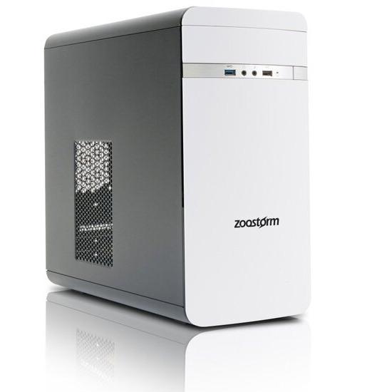 Zoostorm Evolve Desktop PC Intel Celeron N3050 1.6GHz 4GB RAM 500GB HDD DVDRW Intel HD WIFI Windows 10 Home