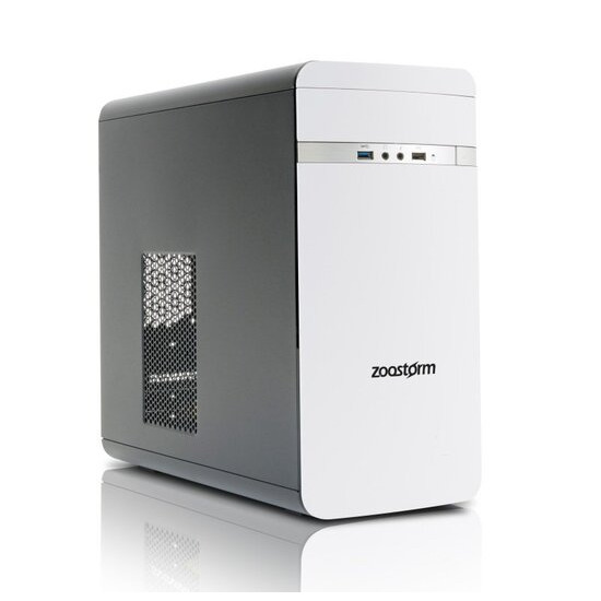 Zoostorm Evolve Desktop PC Intel(R) Core i7-6700 3.4GHz 8GB RAM 2TB HHD DVD/RW ASUS H110M-R Windows 10 Home