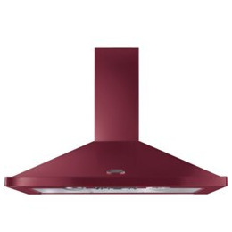 Rangemaster LEIHDC110CY/C Chimney Cooker Hood - Cranberry & Chrome Reviews