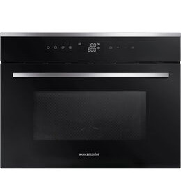 RANGEMASTER RMB45MCBL/SS Built-in Combination Microwave - Black & Stainless Steel Reviews