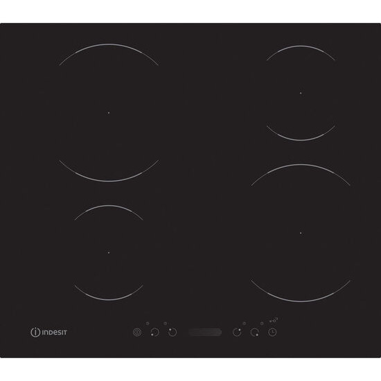 Indesit VIS640 C Electric Induction Hob - Black