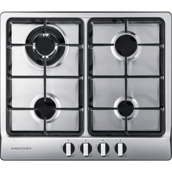 RANGEMASTER  RMB60HPNGFSS Gas Hob - Stainless Steel