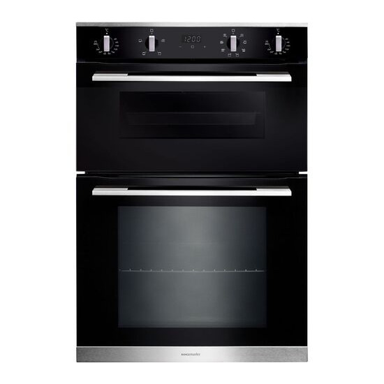 RANGEMASTER RMB9048BL/SS Electric Double Oven Stainless Steel