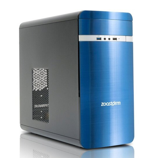 Zoostorm Evolve Desktop PC Intel(R) Pentium(R) G4400 3.3GHz 8GB RAM1TB HDD DVD/RW ASUS H110M-R Windows 10 Home