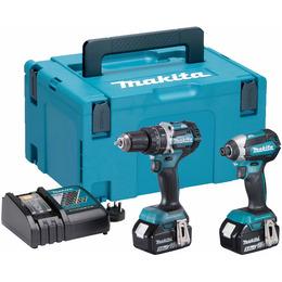 Makita DLX2180TJ 2 Piece Cordless Kit 18V LXT Li-ion (2 x 5.0Ah Batteries) Reviews